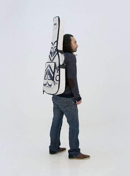 eco electric guitar bag made by www.crearebags.com
