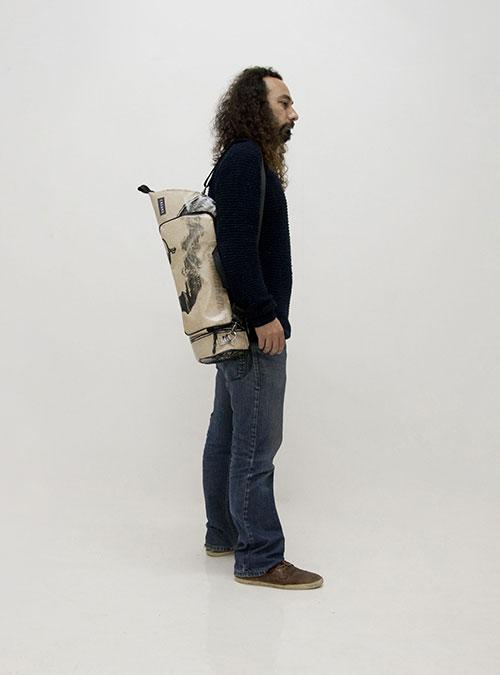 eco trumpet bag made by www.crearebags.com