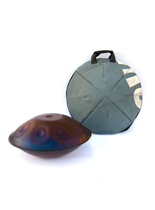 eco handpan bag made by www.crearebags.com