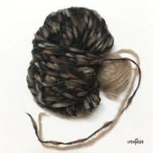 Wolle für Häkelloop - Beispiel 2
