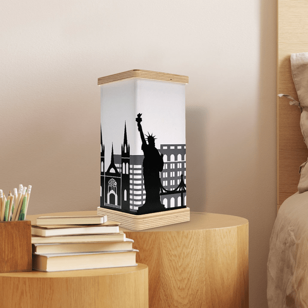 Lampada ANGI Skyline New York ambientazione