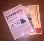 spezielles Markerpapier und ein Aquarell-Postkartenblock