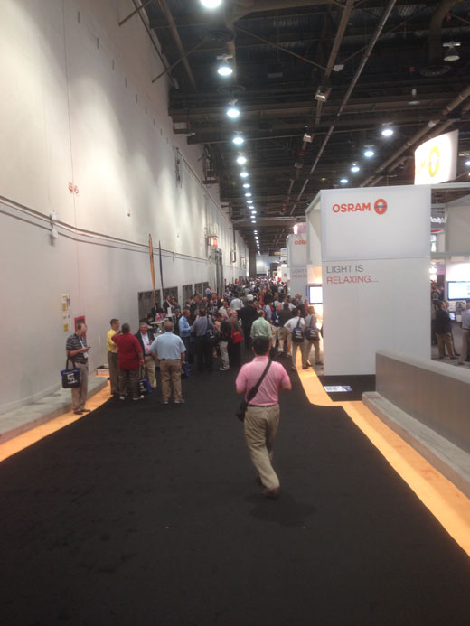 OSRAM SYLVANIA at LIGHTFAIR International 2014