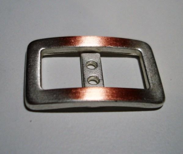 Botó rectangular metall Crea't