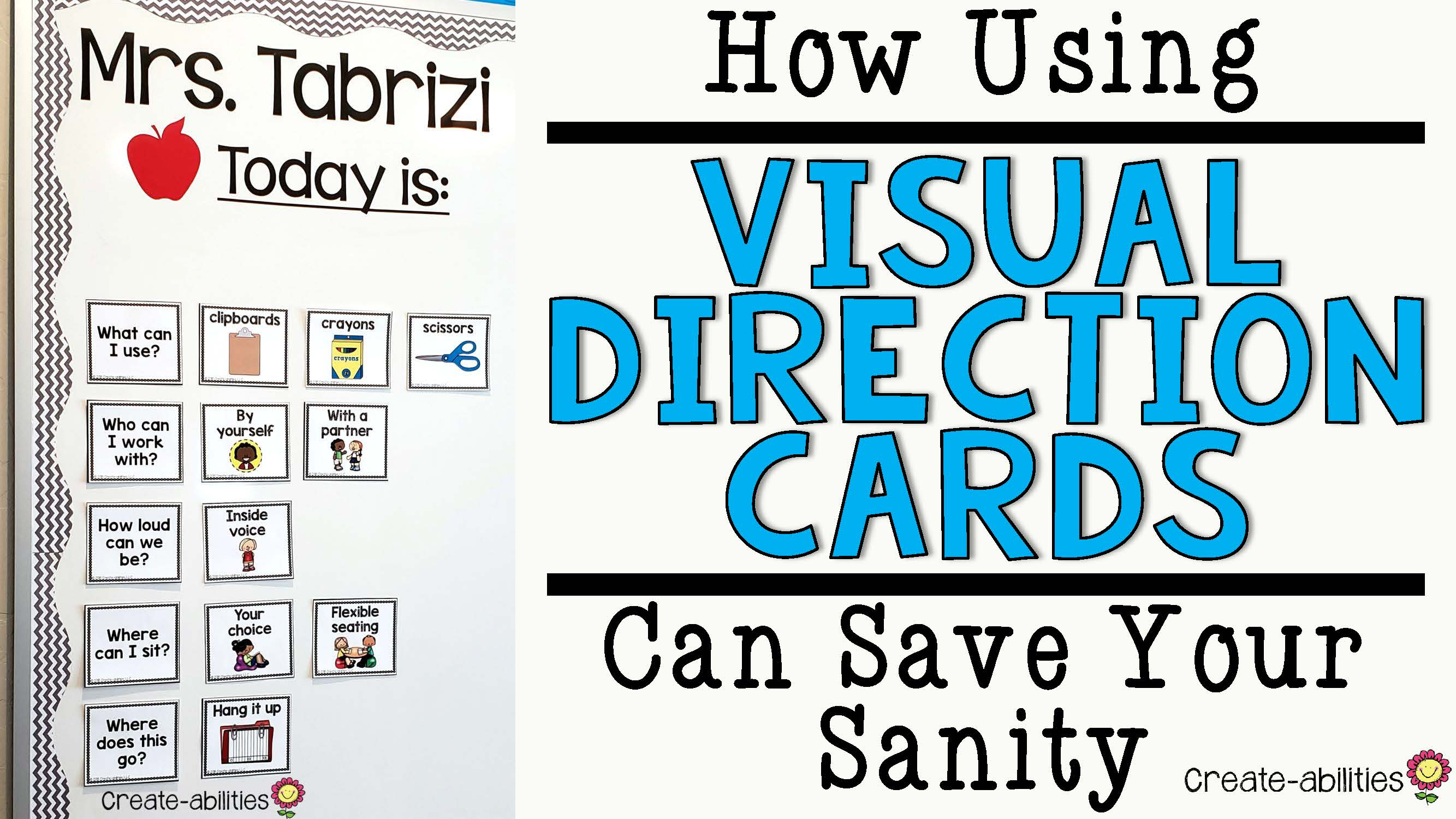 How Using Visual Directions Can Save Your Sanity