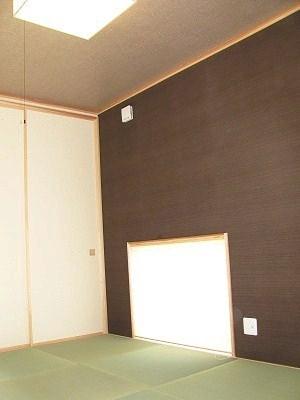 お洒落な現代風の和室