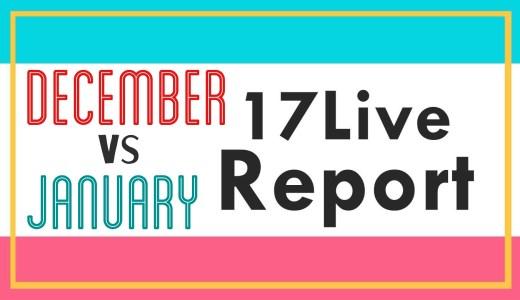 【イチナナ】月間配信レポート 12月 vs 1月