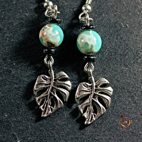 Boucles d'Oreille Feuilles Create Your paradise