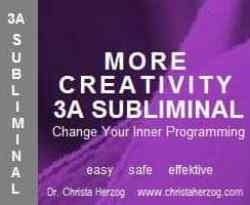 more Creativity 3A Subliminal