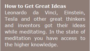 how to get great ideas