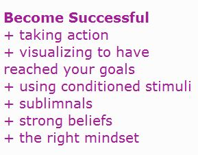 methods to become successful