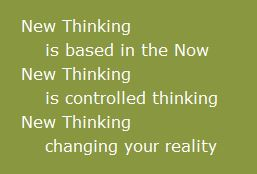 new thinking is thinking in the now