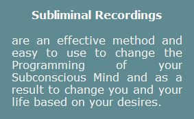 subliminal-recordings are