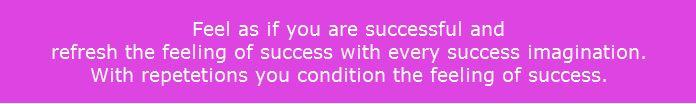 success feeling