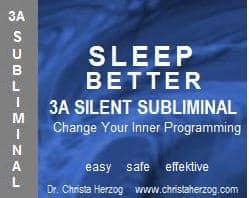 Sleep Better 3A Silent Subliminal