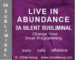 live in abundance 3a-silent subliminal