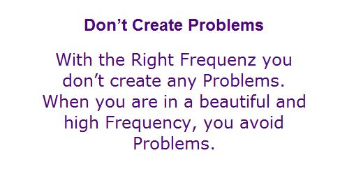 do not create any problems