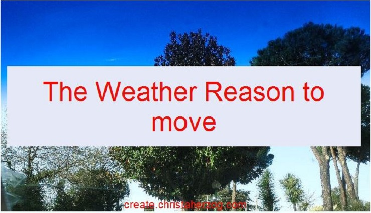 Weather Reason to move