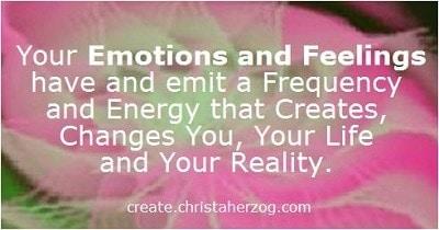 Feelings Create and Change