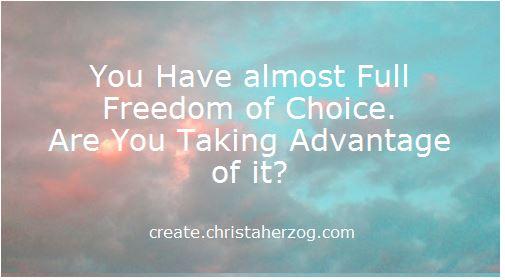 Full Freedom of Choice