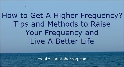 Get A Higher Frequency