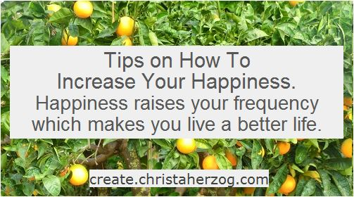 How to increase happiness