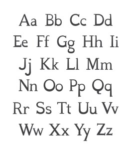 Senior Thesis Project (Dyslexia Decoded Typeface)