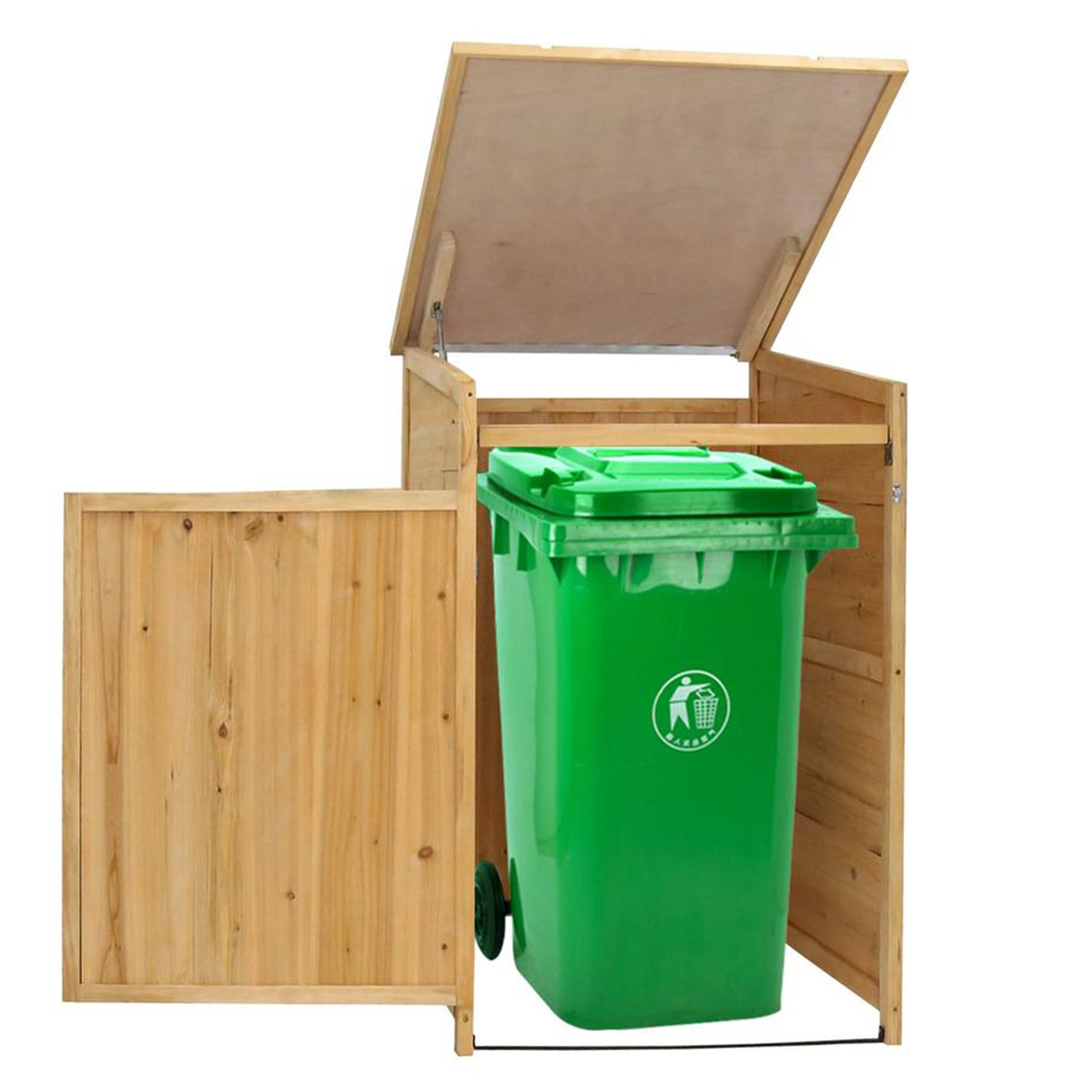 9 ways to disguise your trash bin