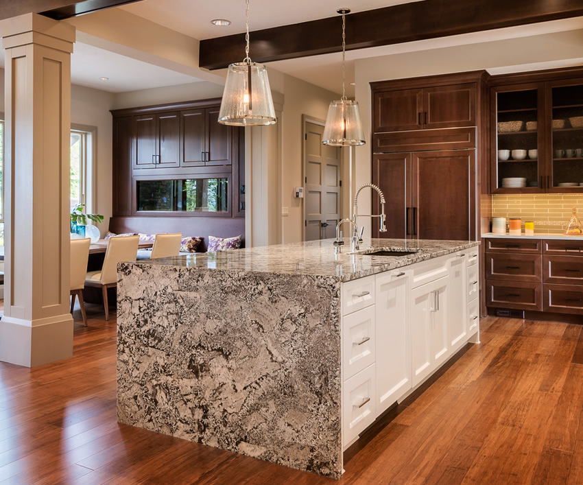 10 Kitchen Countertop Ideas People Are Doing Right Now   The Family     Designing Idea
