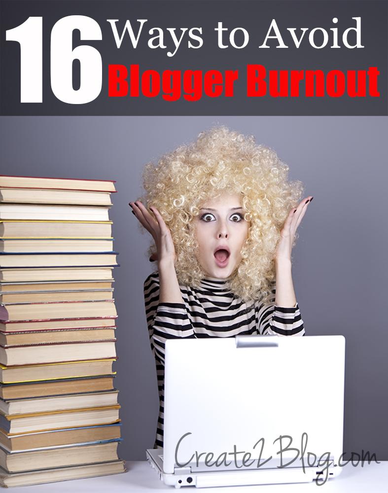 blogger burnout