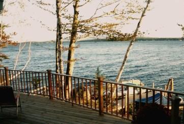 Island Cottage Deck