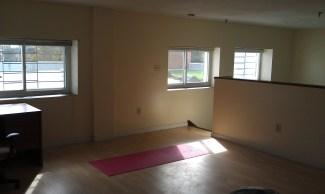 Master bedroom & yoga spot