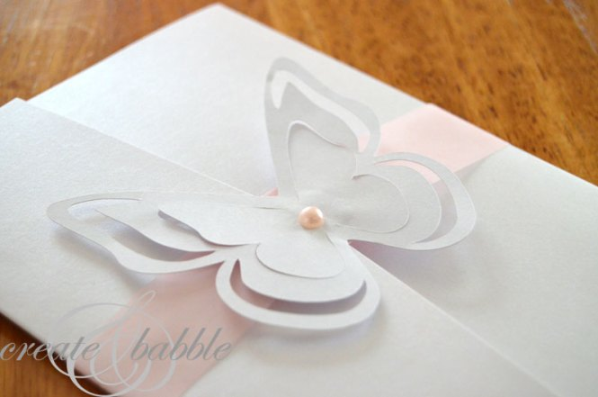 Diy Wedding Invitation Kits Purple Erfly