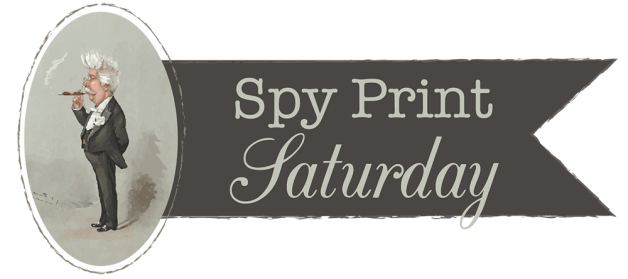 Spy Print Saturday