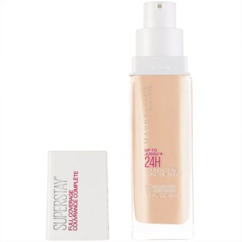 Maybelline Super Stay Full Coverage Liquid Foundation Makeup, Natural Ivory, 1 fl. oz.