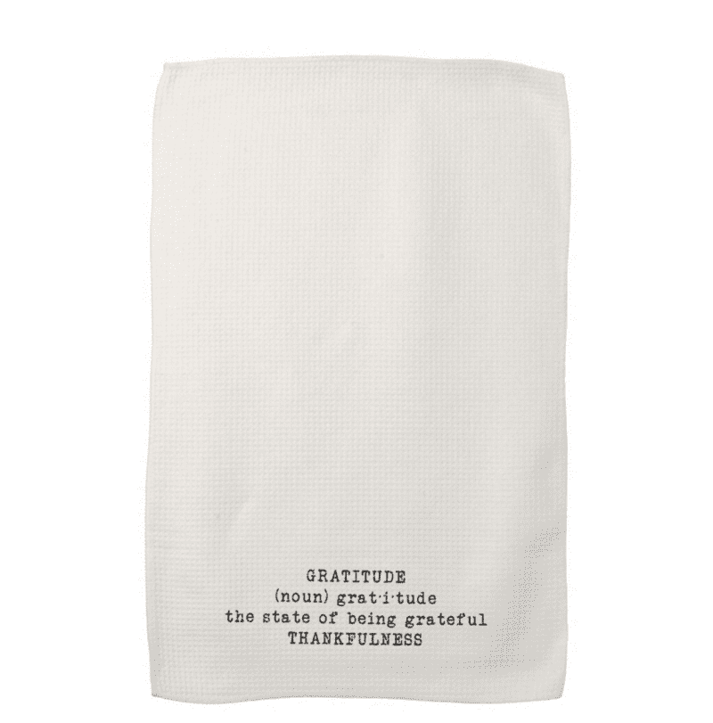 Gratitude Definition Kitchen Towel by Create&Capture from Zazzle