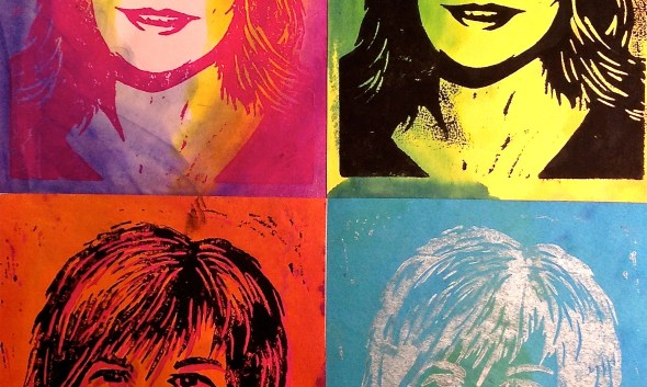 PopArt Self Portrait Print Collage