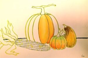 Painting Pumpkin