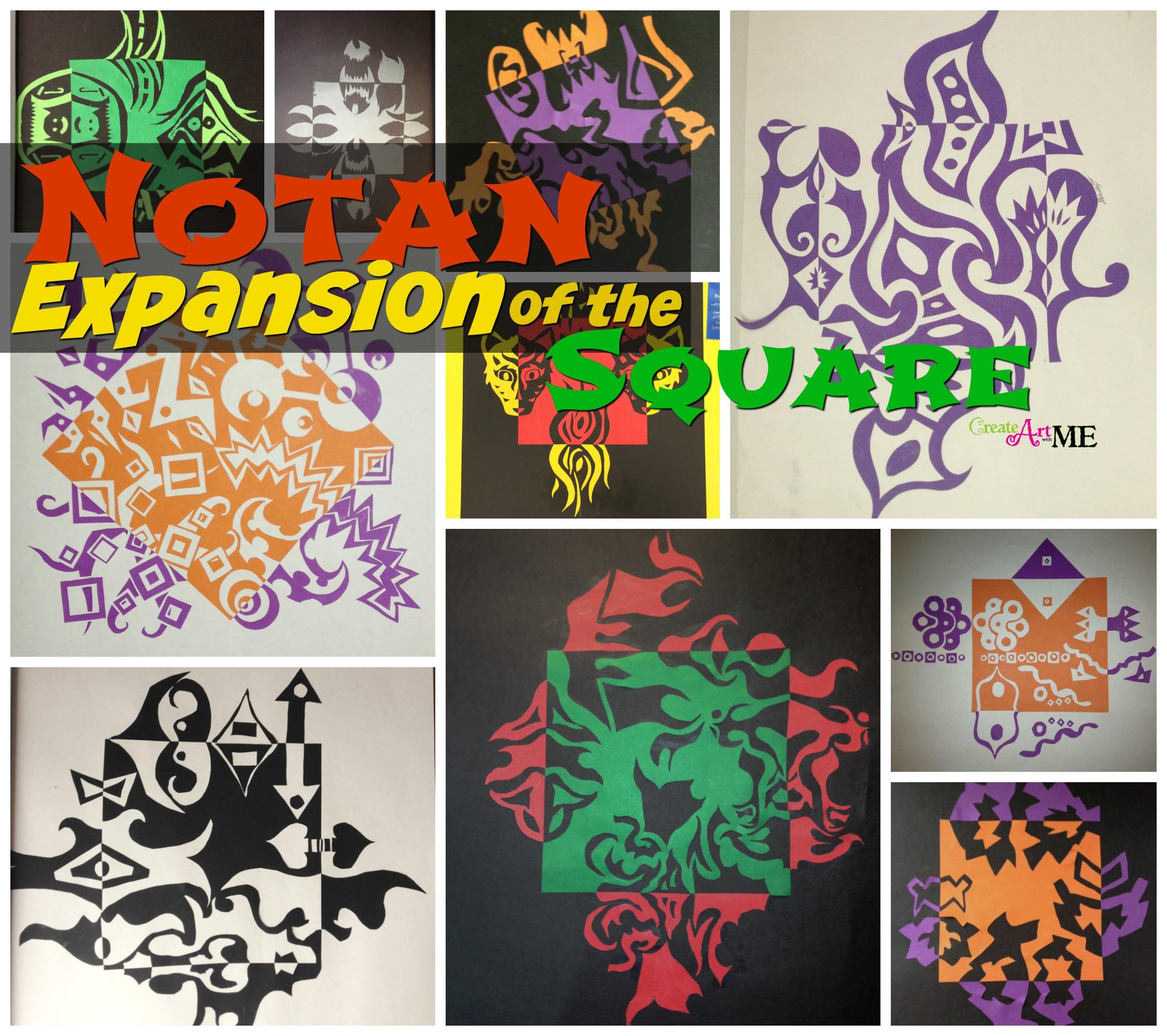 Notan Art Lesson Positive Amp Negative Space