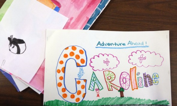 Student Art Folders