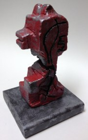 Abstract Non-objective Styrofoam Sculpture Floral Foam