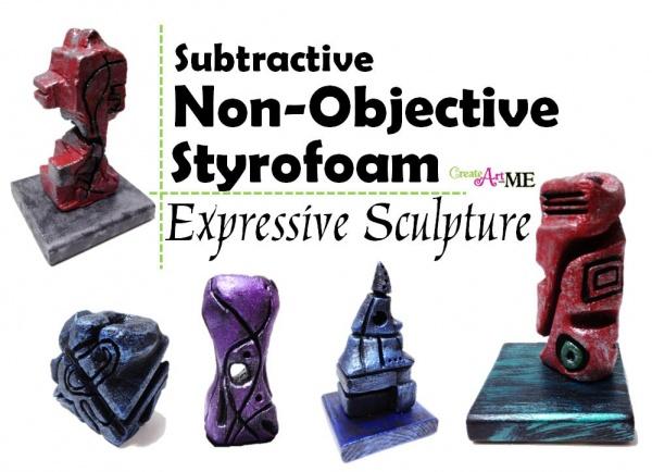 Subtractive Non-objective Expressive Sculpture