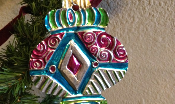 Repousse Foil Embossing Ornament
