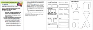 Dry Pastel Techniques Worksheet & Lesson Plan