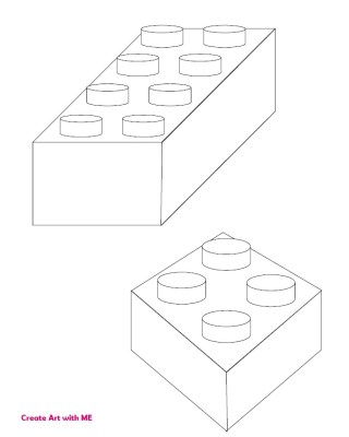 Lego Shading Practice Worksheet Preview