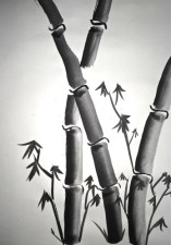 Sumi-e Painting Lesson Bamboo