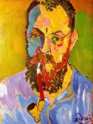 Portrait of Matisse, 1905, by Andre Derain