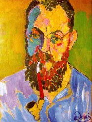 Portrait of Matisse, 1905, by Andre Derain