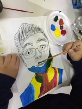 Fauvism Self Portrait Art Lesson for