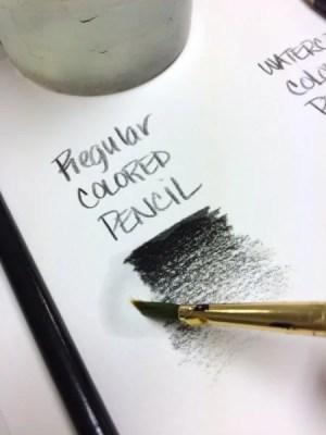 Watercolor Pencil VS Colored Pencil